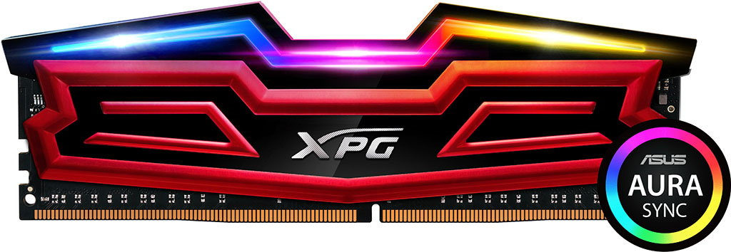 ADATA XPG SPECTRIX D40 RGB DDR4 Memory Released - With Asus