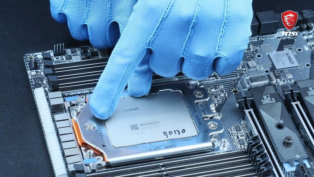 How To Install An AMD Threadripper CPU On An X399