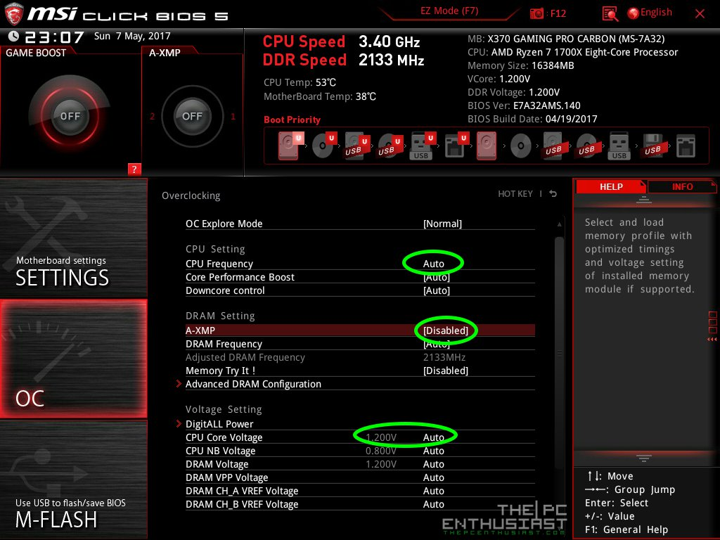 How To Overclock AMD Ryzen 5 (1600X, 1500X) CPU on AM4 Motherboards