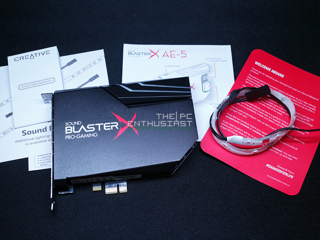 Sound BlasterX AE-5 PCIe DAC with AMP Sound Card Review - Do You