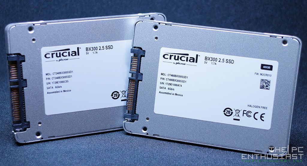 Crucial BX300 240GB and 480GB SSD Review - Budget SSD Made