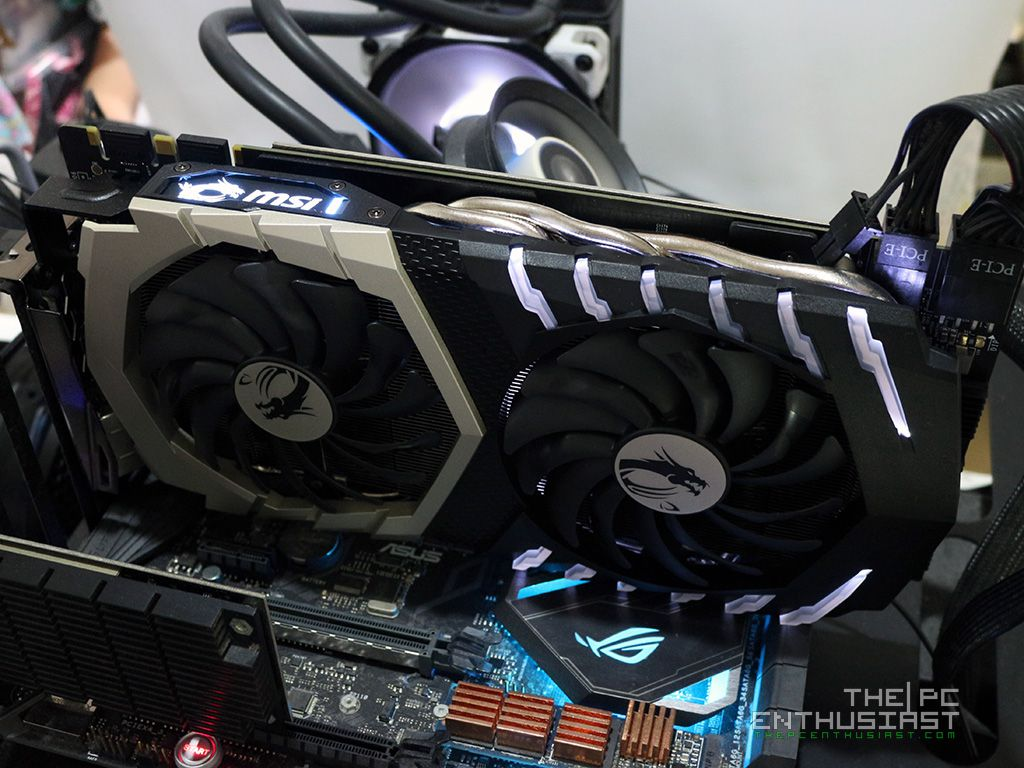 MSI GeForce GTX 1070 Ti Titanium 8G Graphics Card Review - Page 3 of