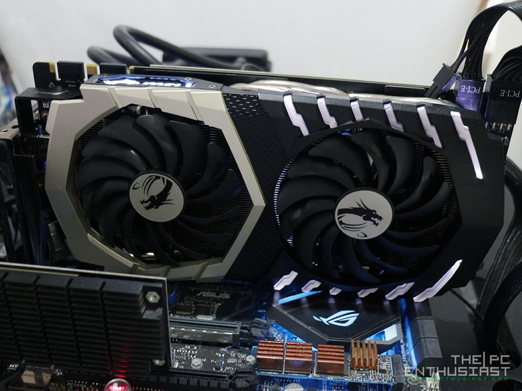 MSI GeForce GTX 1070 Ti Titanium 8G Graphics Card Review - Page 9 of