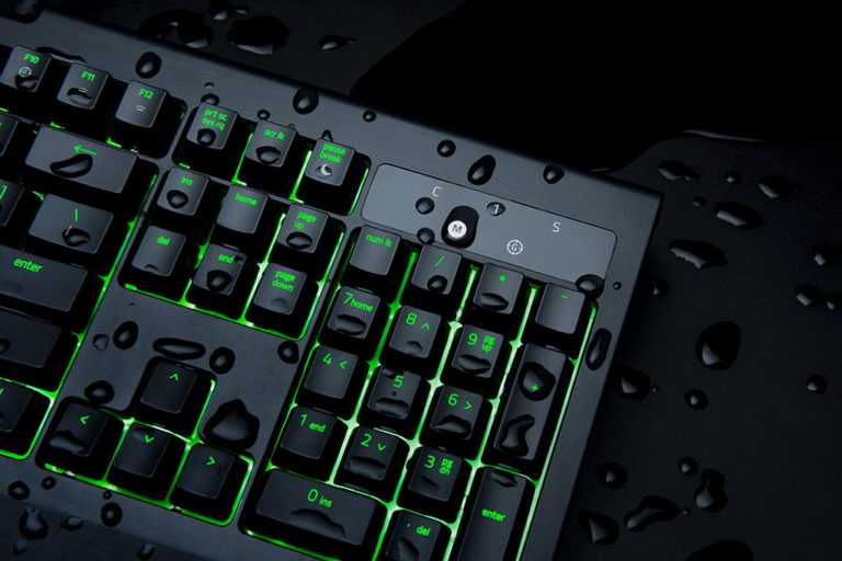 Razer BlackWidow Ultimate 2017 Now Water and Dust Resistant