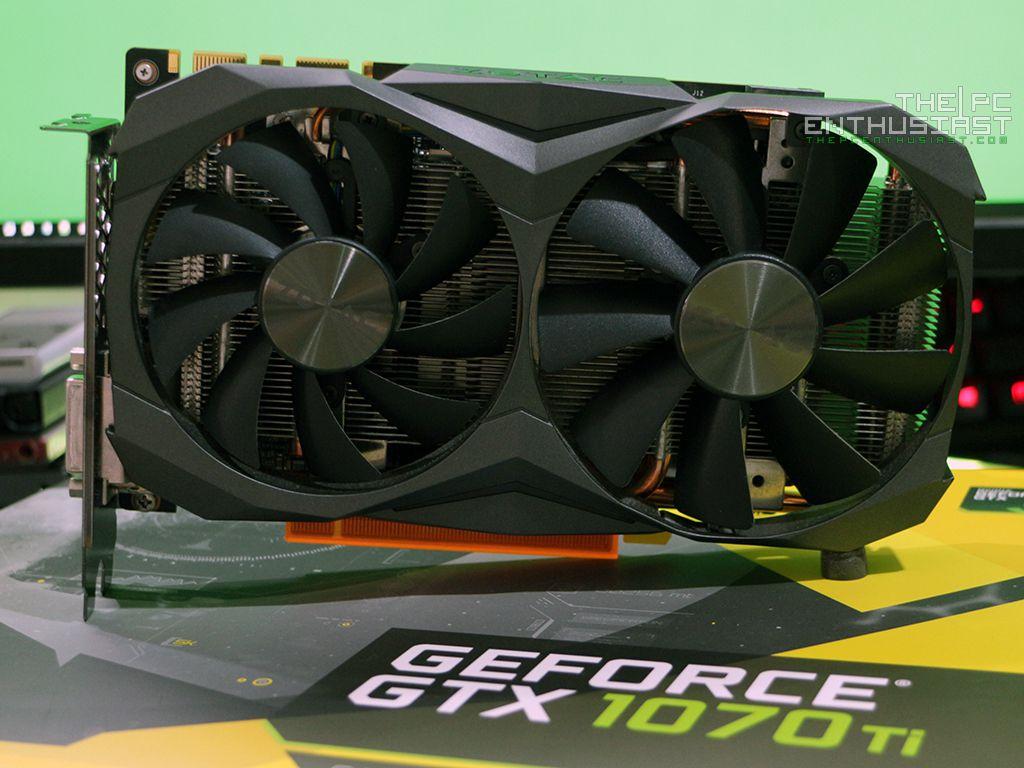 Zotac GeForce GTX 1070 Ti Mini Graphics Card Review - Page 2