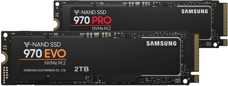 Samsung 970 PRO and 970 EVO M.2 NVMe SSDs Released – See Features, Specs and Price