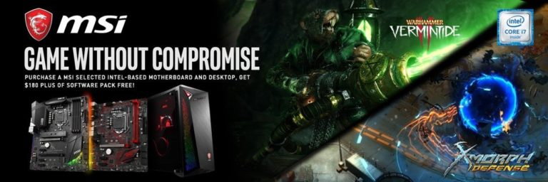 """MSI """"Game Without Compromise Campaign"""" Announced, In Partnership with Intel"""