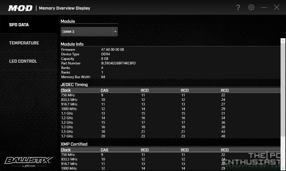 Ballistix Tactical Tracer RGB DDR4-2666 Review - Finally An