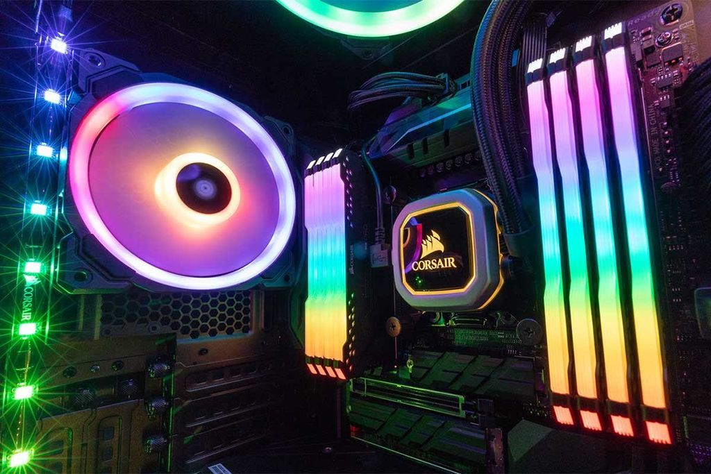 Corsair Vengeance RGB PRO DDR4 Memory, New iCUE Software and