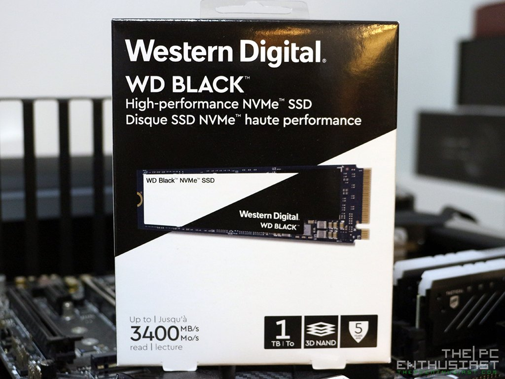 WD Black 1TB 3D NVMe SSD Review - The WD Black Drive That We