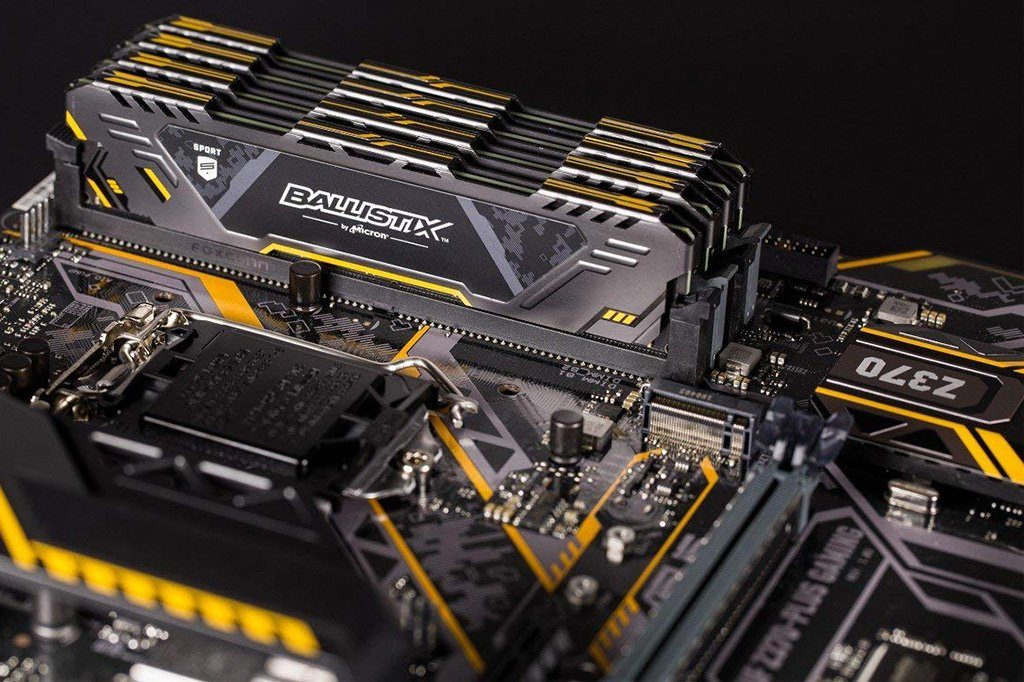 Ballistix Sport AT DDR4 Gaming Memory Now Available