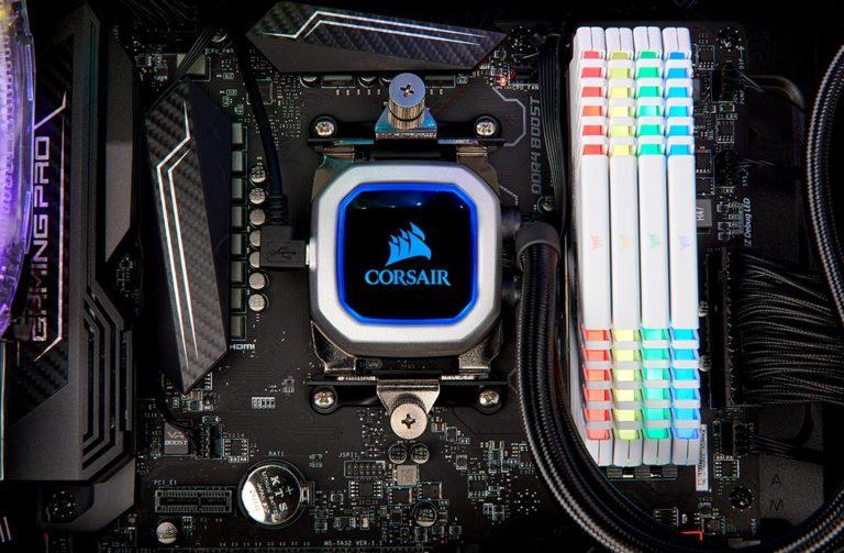 Corsair Hydro Series H100i PRO RGB Liquid CPU Cooler Now Available