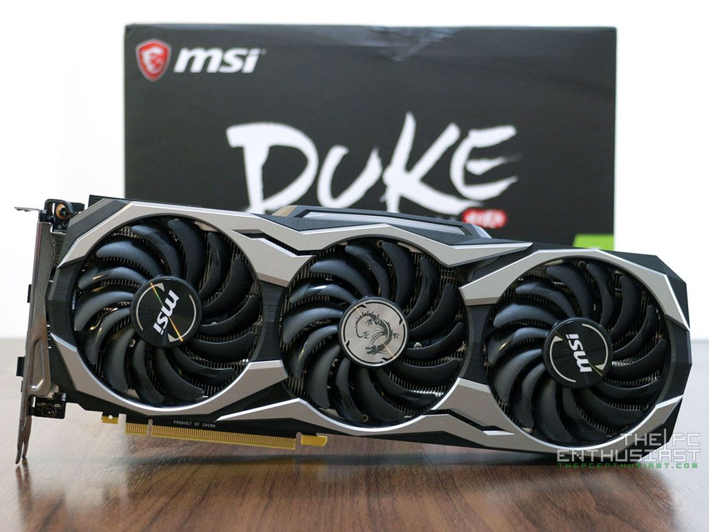 MSI GeForce RTX 2080 DUKE 8G OC Review - Fast and Silent - Page 2 of