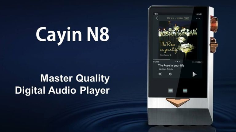 Cayin N8 Flagship Portable Digital Audio Player Announced – Features Solid State and Triode Vacuum Tube Output