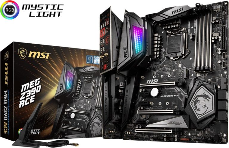 MSI MEG Z390 ACE and MPG Z390 Gaming Edge Motherboards Now Available – See Features, Specs and Price