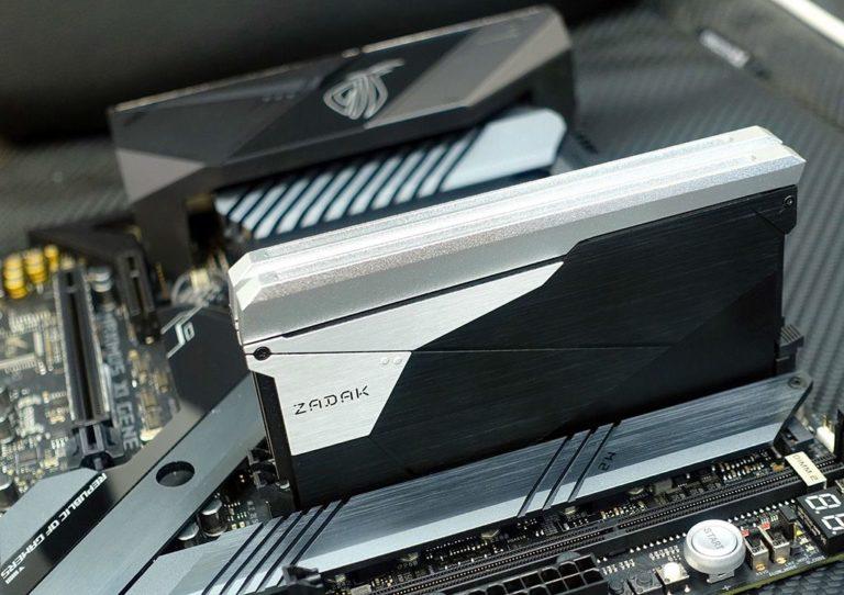 ZADAK SHIELD Double Capacity DDR4 32GB Single Stick Memory Announced