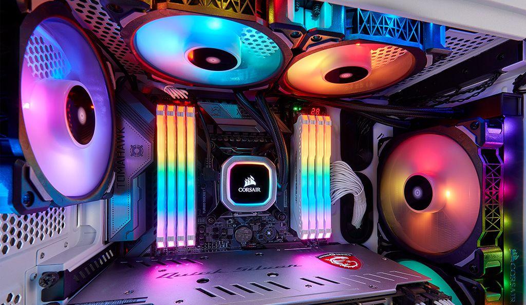 Corsair Hydro Series H100i and H115i RGB Platinum Liquid CPU