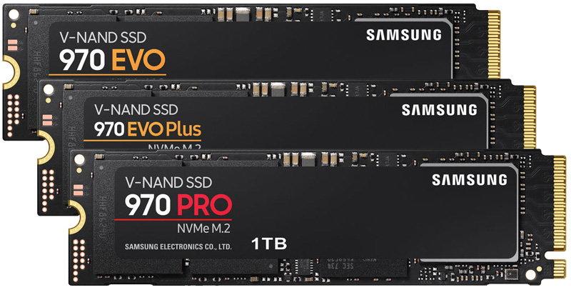 best m.2 nvme ssd samsung 970 series