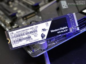 WD Black 3D 1TB M.2 VNMe SSD - best SSD to buy