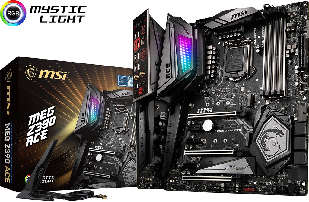 MSI MEG Z390 ACE Motherboard Review - Very Nice