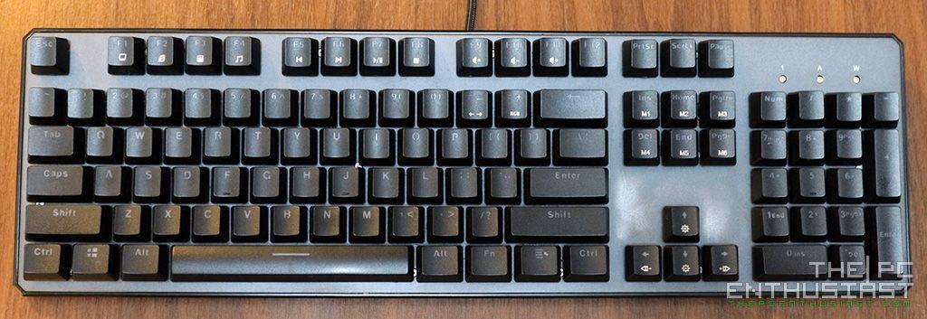 Tecware Phantom 104 and 87 RGB Mechanical Keyboard Review