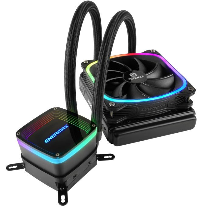 Enermax Aquafusion AIO Liquid CPU Cooler Now Available – See Features, Specs and Price