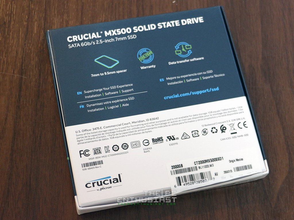 Crucial MX500 2TB SSD Review - A Good Value SSD? - ThePCEnthusiast