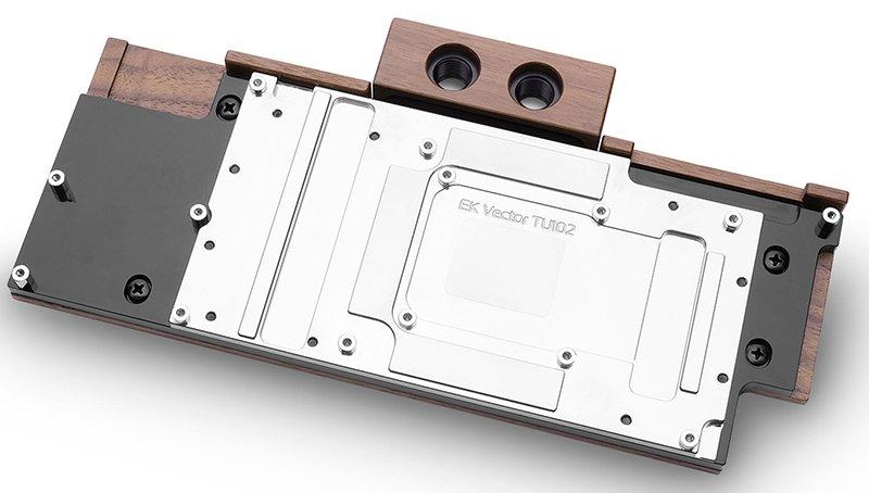 EK Lignum Series Announced - Wood-Plated Water Blocks and