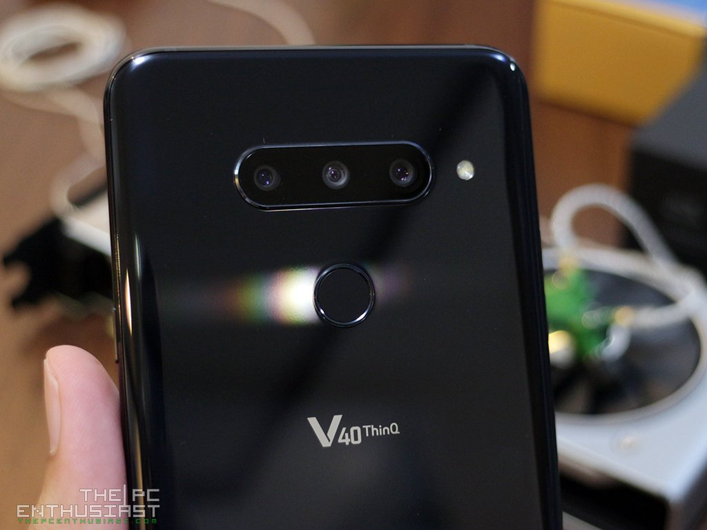 LG V40 ThinQ Audio Review - The Best Smartphone For Music