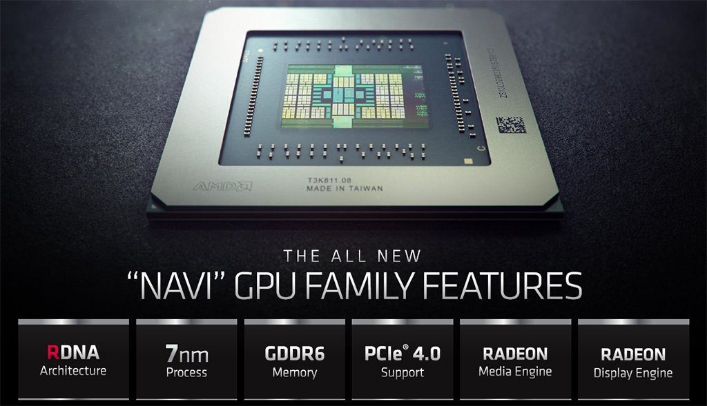 AMD RX 5000 Series GPU Features