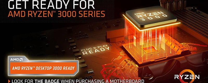 AMD Ryzen Desktop 3000 Ready Badge