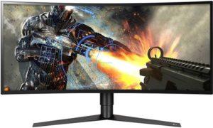 LG 34GK950F-B curved gaming monitor