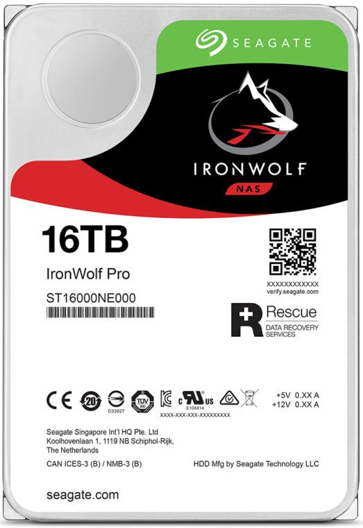 Seagate 16TB Hard Drives Released – Exos X16 and IronWolf 16TB Drives Now Available