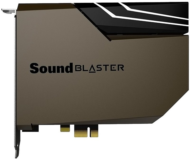Creative Sound Blaster AE-7 and AE-9 Audiophile Sound Cards