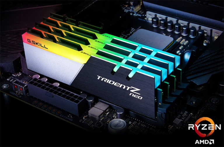 G.Skill Trident Z Neo DDR4 Memory Optimized for AMD Ryzen 3000 and X570 Motherboards Released
