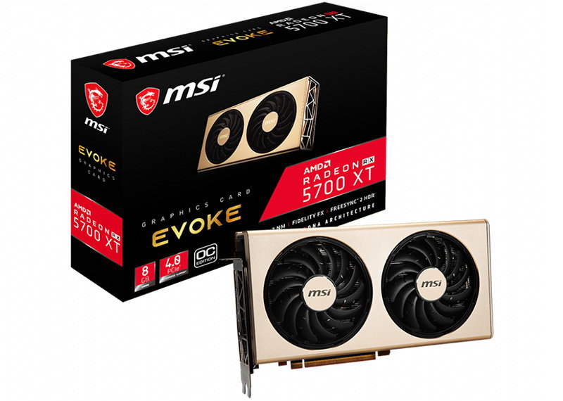 MSI Radeon RX 5700 XT EVOKE OC Review