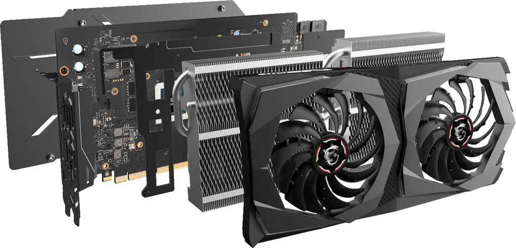 MSI RTX 2070 Super Twin Frozr 7 Design