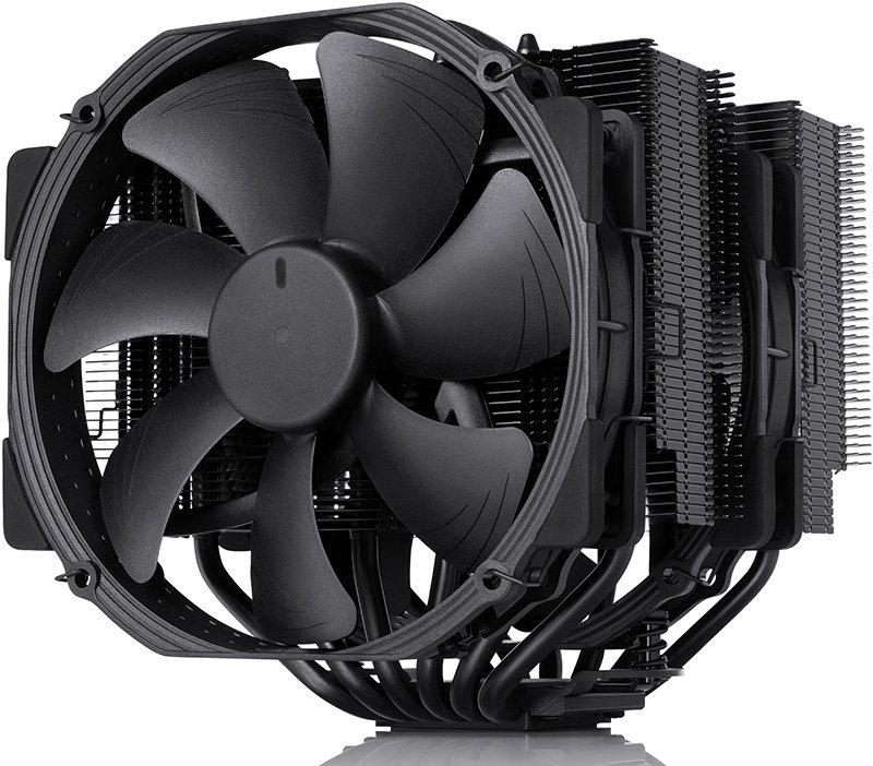all-black Noctua NH-D15 chromax.black cpu cooler