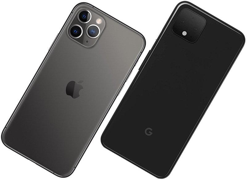 google pixel 4 vs iphone 11 pro