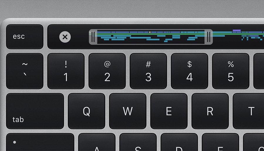 苹果16英寸MacBook Pro魔术键盘