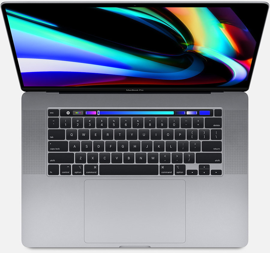 带触摸栏的Apple 16英寸MacBook Pro