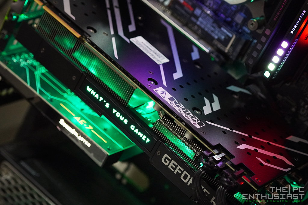 galax rtx 2070 super ex review test setup