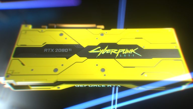 Win A GeForce RTX 2080 Ti Cyberpunk 2077 Edition Graphics Card