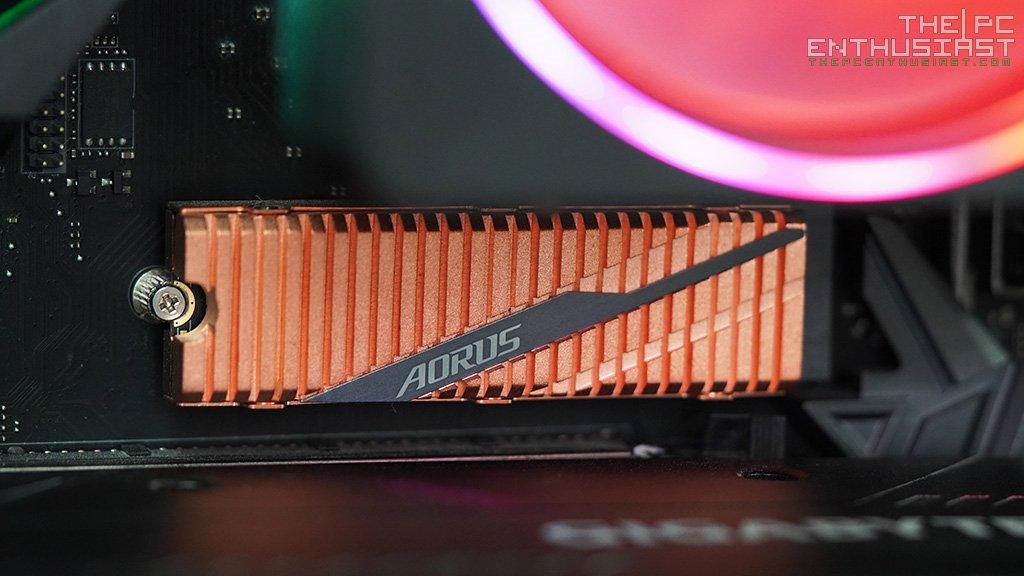 Aorus NVMe Gen4 SSD 1TB Review