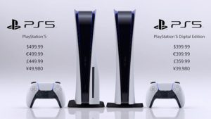 Sony PlayStation 5 (PS5) Price and Release Date Revealed