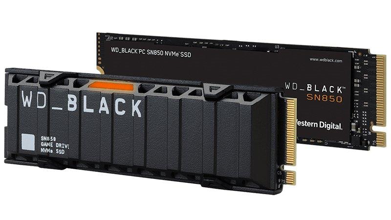 wd black sn850 pcie 4.0 nvme ssd