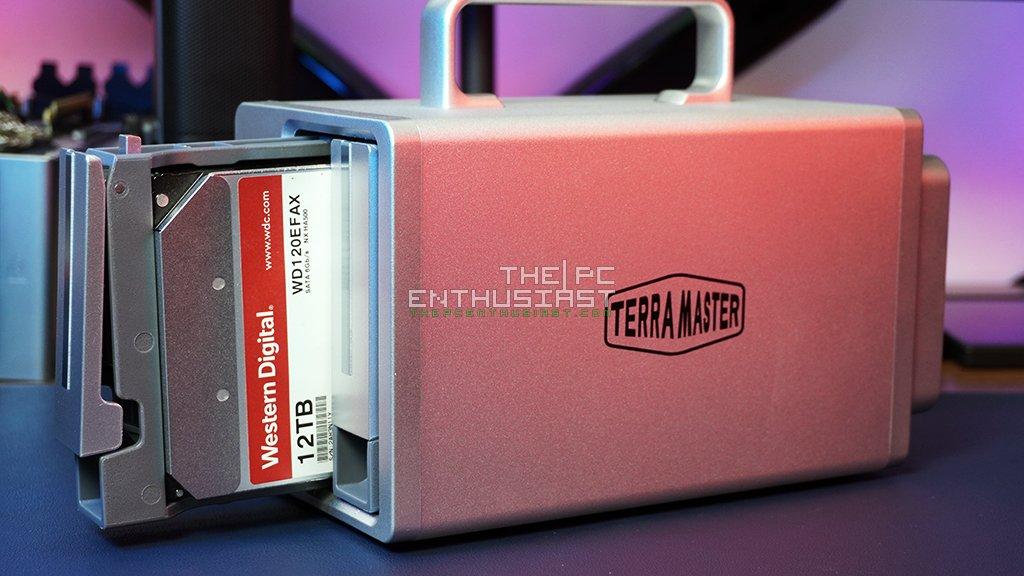 TerraMaster TD2 Thunderbolt 3 Plus Review-12